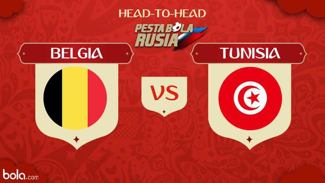 Berita video head-to-head Piala Dunia Rusia 2018: Belgia vs Tunisia.