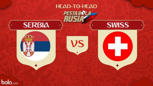 Berita video head-to-head Piala Dunia Rusia 2018: Serbia vs Swiss.