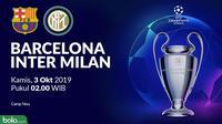 Liga Champions - Barcelona Vs Inter Milan (Bola.com/Adreanus Titus)