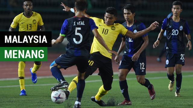 Berita video highlights kemenangan Malaysia atas Kamboja 1-0 pada laga pembuka Grup A Piala AFF 2018 di Phnom Penh, Kamis (8/11/2018).