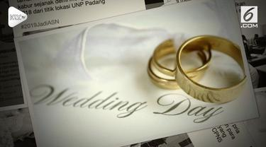 Demi menggapai cita-cita menjadi PNS, dua orang ini rela meninggalkan pesta pernikahan demi mengikuti seleksi.