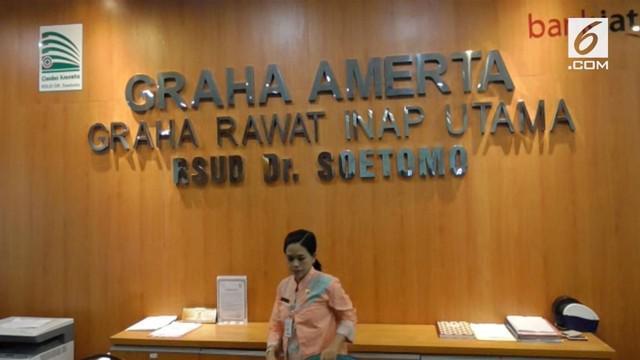 Dua pasangan cagub dan cawagub Jawa Timur jalani pemeriksaan kesehatan di RSU Dr. Soetomo