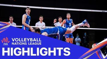 Berita Video, Tim Voli Putra Serbia Kalahkan Jerman 3-1 dalam Pertandingan Lanjutan Volleyball Nations League, Selasa (9/6/2021).