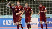 Tim futsal Rusia difavoritkan menjadi juara Piala Dunia Futsal 2016. (AFP/STR)