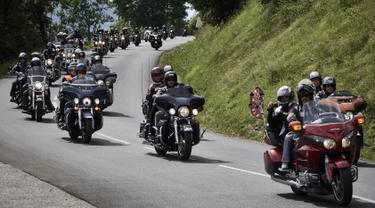 30 Ribu Penggemar Motor Gede Meriahkan Morzine Avoriaz Harley Days 2017