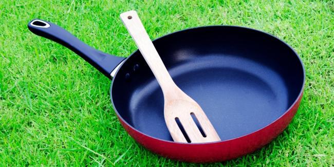 Menjaga alat masak agar tidak karatan/copyright Shutterstock.com