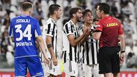 Bermain di depan puluhan ribu pendukung mereka, Juventus dipaksa menyerah 0-1 melawan Empoli pada laga Serie A akhir pekan ini. (Foto: AP/LaPresse/Fabio Ferrari)