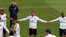 Jese Rodriguez ditransfer PSG dari Real Madrid senilai 21 juta pound. Namun, hingga saat ini Jese belum bisa tampil konsisten bersama tim utama. Jese baru tampil 128 menit dalam 3 partai. (AFP/Geoffroy Van Der Hasselt)