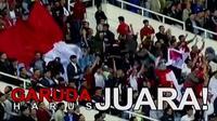 Selangkah lagi Timnas Indonesia bisa meraih prestasi di ajang Piala AFF 2016, setelah lolos ke partai final.