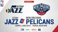 Utah Jazz Vs New Orleans Pelicans_2 (Bola.com/Adreanus Titus)