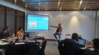 Berkolaborasi dengan Blibli.com, mal online terdepan di Indonesia, Jenius melakukan edukasi keamanan bertransaksi secara digital, dengan tujuan untuk mendukung terciptanya ekosistem ekonomi digital Indonesia yang aman dan nyaman. (Liputan6.com/ Switzy)