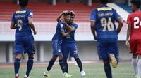 Laga uji coba antara PSIM Yogyakarta melawan Barito Putera di Stadion Mandala Krida, Yogyakarta, Rabu (23/9/2020). (Dok PSIM Yogyakarta)