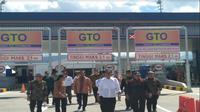Jokowi resmi buka tol Soroja (Liputan6.com/Achmad Dwi)