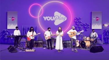 Penampilan Nadin Amizah di program Youplay