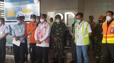 Menhub Budi Karya dan Kepala KNKT Soerjanto Tjahjono soal Sriwijaya Air