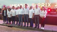 Gubernur DKI Jakarta Anies Baswedan mengumumkan penyelenggaraan Formula E di Monas pada 6 Juni 2020. (Merdeka.com/ Hari Ariyanti)