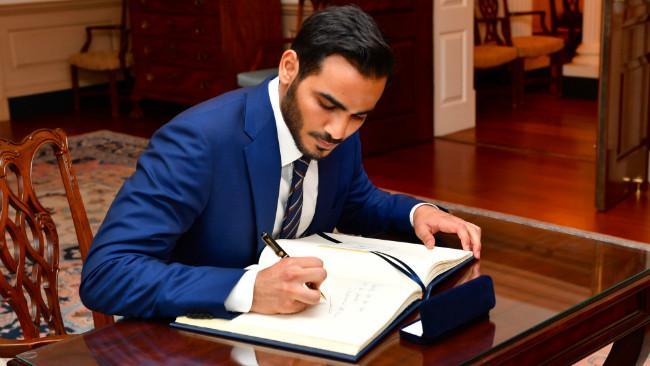 Pangeran Mohammed bin Hamad bin Khalifa Al Thani (Qatar). (Sumber Wikimedia Commons)