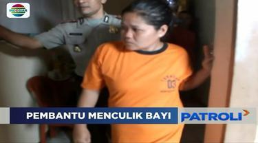 Pura-pura bekerja selama tiga hari sebagai asisten rumah tangga di Sukabumi, Jawa Barat, wanita ini culik bayi majikan demi bayar utang.