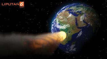 Banner Infografis Asteroid-Asteroid Pengancam Bumi