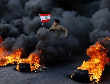 Protes Terhadap Elite Penguasa Lebanon Kian Panas