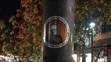 Geger Temuan Stiker Neo Nazi di Canberra
