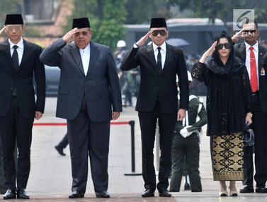 SBY hingga Megawati Hadiri Pemakaman BJ Habibie di TMP Kalibata
