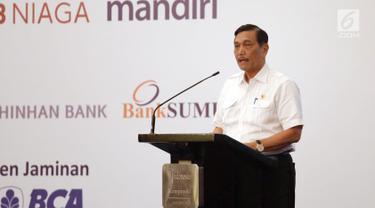 Ketika Tiga Menteri Berswafoto Usai Penandatanganan Kerja Sama Antarbank