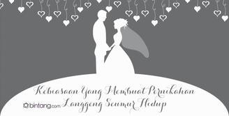 Kebiasaan yang Membuat Pernikahan Langgeng Seumur Hidup.