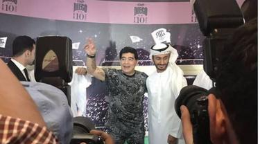 Menengok Kafe Milik Diego Maradona di Abu Dhabi