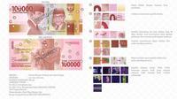 Uang rupiah Baru pecahan Rp 100 ribu kertas. (Foto: BI)