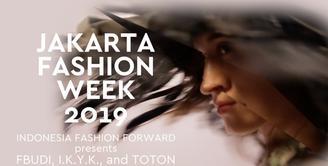 Indonesia Fashion Forward presents FBUDI, IKYK, and TOTON