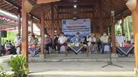 Kunjungan Komisi IV DPR ke kampung mina padi dan salak pondoh di Kabupaten Sleman DIY.