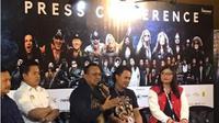 Anas Syahrul Alimi, CEO Rajawali Indonesia dan Founder JogjaROCKarta Festival dalam jumpa pers JogjaROCKarta Festival 2020 di Yogyakarta, Sabtu (29/2).