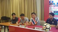 China disebut akan menggunakan pemain yang merumput di Eropa untuk menghadapi Timnas Indonesia U-19 dan Thailand di PSSI Anniversary. (Bola.com/Zulfirdaus Harahap)