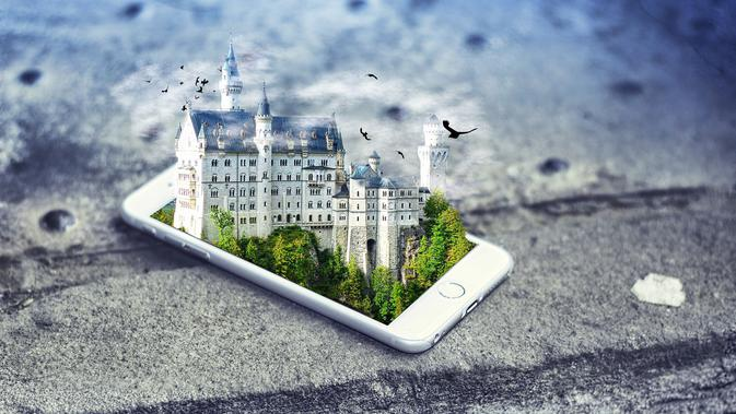 Wisata Virtual, Sensasi Jalan-Jalan Lewat Gawai yang Menenangkan Otak