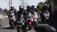 Corsa Ajak Journalis Max Community (JMC) Touring Santai ke Bogor (foto: Ist)