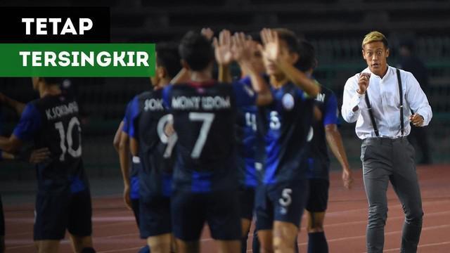 Kamboja tetap tersingkir dari Piala AFF 2018 meskipun sudah menang atas Laos dengan skor 3-1.