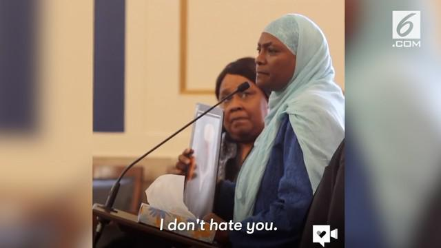Seorang ibu memaafkan pembunuh anaknya dan bersedia membantu kehidupan pelaku.