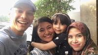 Marshanda akhirnya bertemu anak [foto: instagram/benkasyafani]