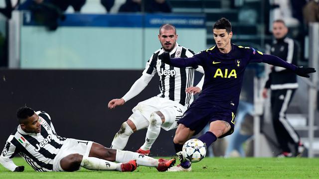 Juventus Gagal Tumbangkan Tottenham Hotspur