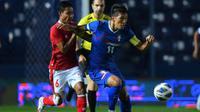 Evan Dimas layak didapuk sebagai man of the match kemenangan Timnas Indonesia atas Chinese Taipei karena mencetak gol dan punya peran penting di lapangan. (dok. AFC)