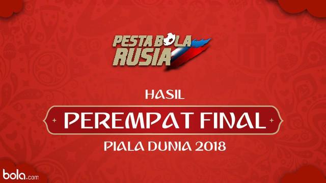 Berita video hasil Perempat Final Piala Dunia Rusia 2018. Dua wakil Amerika Latin, Uruguay dan Brasil, tumbang.