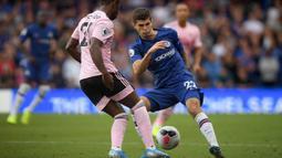2. Christian Pulisic (20 Tahun) - Didaulat untuk bisa menggantikan peran Eden Hazard yang telah hijrah ke Real Madrid. Gelandang serang ini masih butuh waktu untuk bisa beradaptasi menaklukkan kerasnya Premier League. (AFP/Daniel Leal-Olivas)