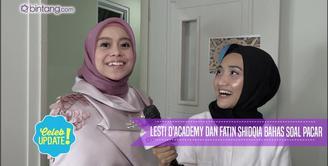 Lesti D'Academy mempertanyakan siapa kekasih Fatin Shidqia saat ini.