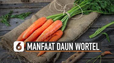 Daun pada wortel juga dapat dikonsumsi dan kaya manfaat.