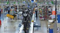Produksi dari proyek INDRA dilakukan pada manufaktur Yamaha di Chennai.