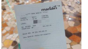 Temukan Struk ATM Orang Lain, Jumlah Saldonya Bikin Wanita