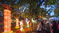 Auckland Lantern Festival di Selandia Baru menyambut Imlek 2019. (dok. Tourism New Zealand/Dinny Mutiah)