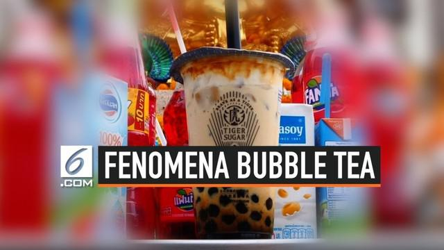 Di sejumlah kuil Thailand kini dipenuhi minuman bubble tea. Hal ini dilakukan oleh warga lokal yang menjadikan bubble tea sebagai persembahan bagi para dewa.