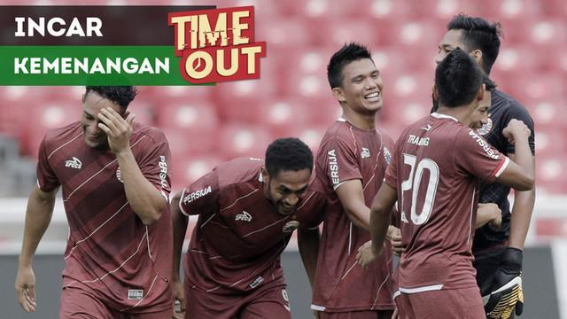 Berita video Time Out kali ini tentang Persija Jakarta yang mengincar kemenangan saat menghadapi Arema FC pada pekan kedua Liga 1 2018.